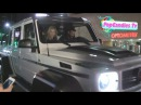 Dan Bilzerian Babes with His Customized Super Sized Mercedes Waggon G63 AMG 6x6 Monster