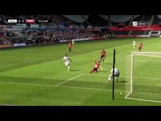 Unbelievable Epic Fernando Llorente`s Fail in Swansea Debut