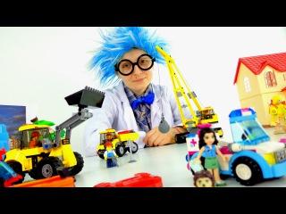 Как появился конструктор ЛЕГО (lego). Познавательное видео для детей в стихах. Истории Профессора