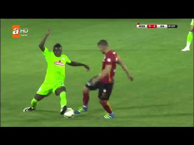 Rizespor 1 3 Galatasaray Ma zeti 20 Nisan 2016 Trkiye Kupas Yar Final