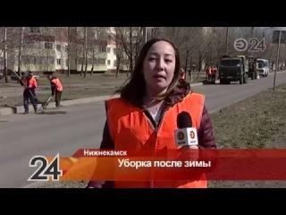 В Нижнекамском районе о самых активных участниках субботника напишут в газете