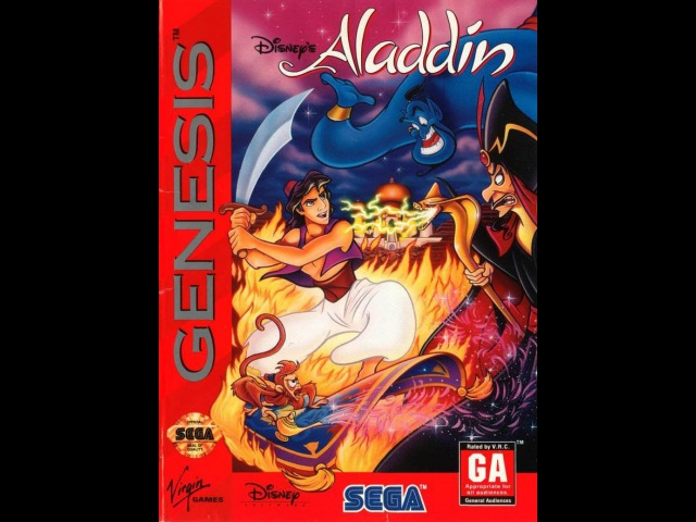 Aladdin Прохождение (Sega Rus)