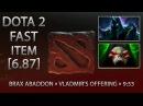 Dota 2 Fast Item - BRAX Abaddon » Vladmir's Offering » 9:53 [6.87]