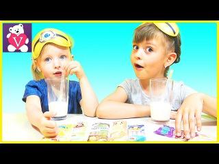 МОЛОЧНЫЙ ЧЕЛЛЕНДЖ угадываем вкус молока | Milk Challenge