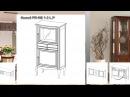 Меблі Таранко . Колекція Prato. Модульні системи.Вітальні, Комоди
