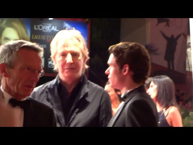 Alan Rickman alla Premiere di Une Promesse di Patrice Leconte 4 settembre 2013