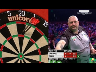 Dave Chisnall vs Robbie Green (PDC World Grand Prix 2016 / Round 1)