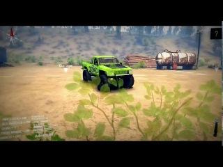 Spun Zone Off Road Jeep Comanche MJ