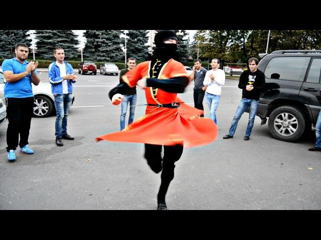 Марат Созаев танцор из Северной Осетии зажигает Asa Style Кавказская лезгинка 2016