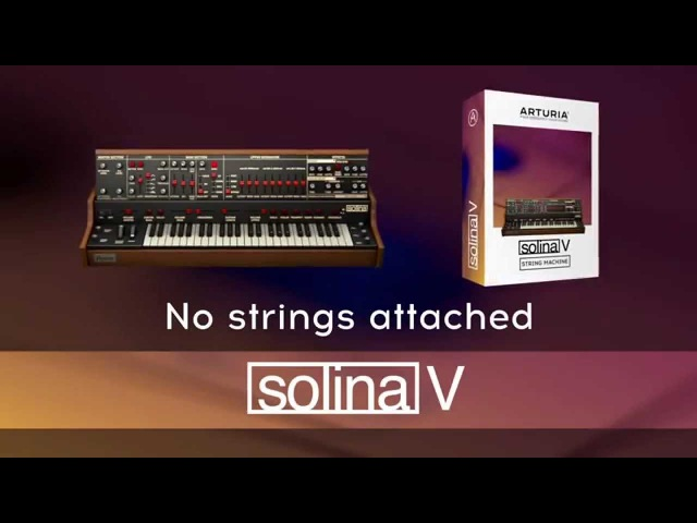 Arturia introduces Solina V