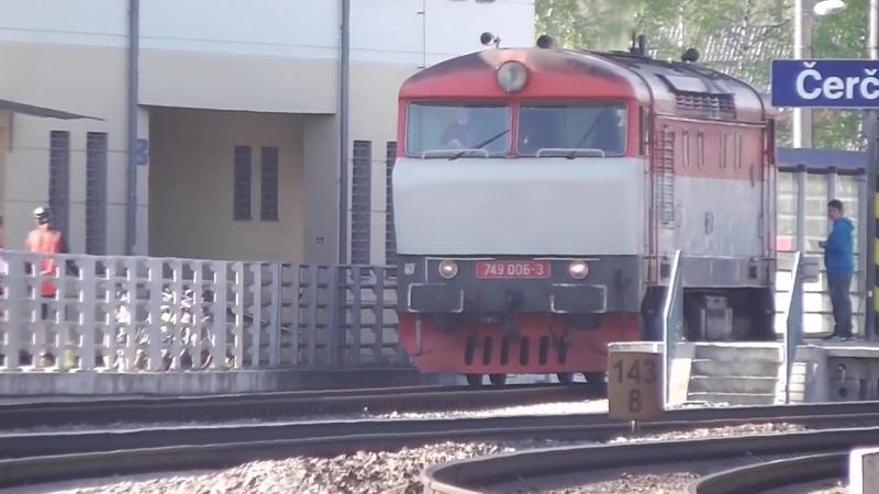 Zeleznice - Pacifik a trat 221 (6. 5. az 8. 5. 2016)