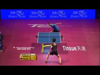 2016 World Tour Grand Finals Highlights: Vladimir Samsonov vs Yuto Muramatsu (R16)