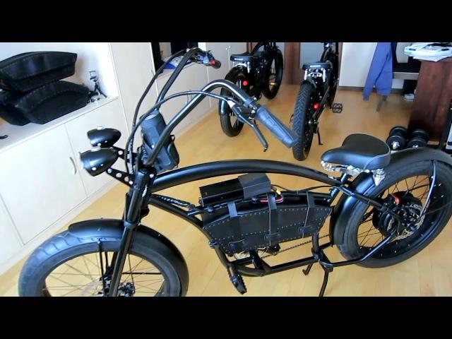 Электровелосипед фэтбайк Megavel BigBoy на раме Micargi