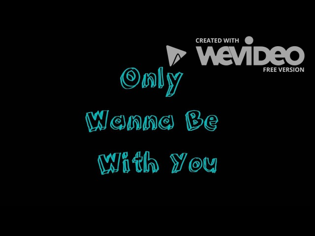 Hootie and the Blowfish - Only Wanna Be With You - Lyrics