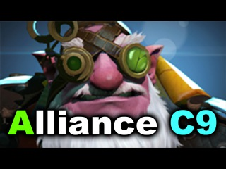 ALLIANCE vs CLOUD 9 - Dota 2 Asia Championships 2017