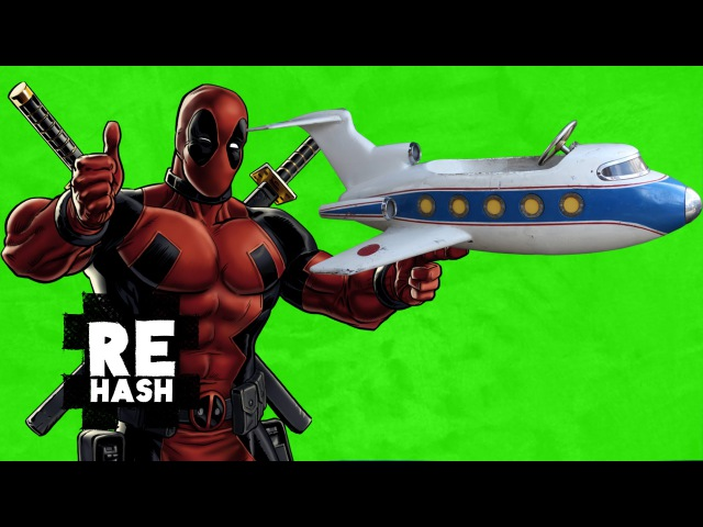 Deadpool Trailer Teaser and an airbus from London to NYC in 1 hour Rehash FreedomFamily