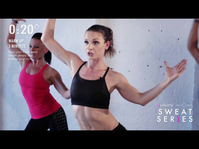 Want dancer abs Try this 6-minute workout from DanceBody's Katia Pryce | Sweat Series | WellGood