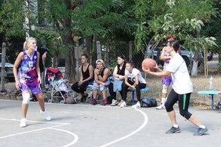 Открытие второй из серии новых площадок для баскетбола 3х3