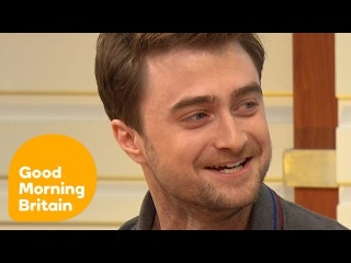 Daniel Radcliffe On His Sexy Photoshoot And New Dramatic Roles | Good Morning Britain
