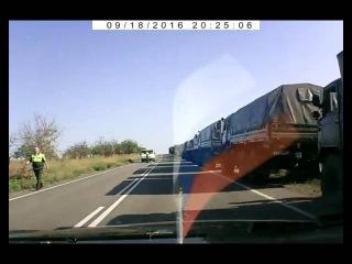 Два человека погибли при столкновении легковушки с БТР в Крыму