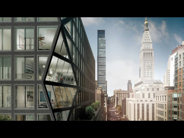 Rem Koolhaas discusses OMA's first New York apartment building