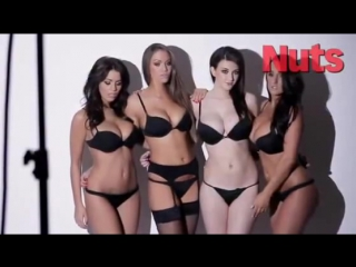 JOEY FISHER, HOLLY PEERS, EMMA FRAIN  STACEY POOLE NUDE!