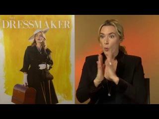 """Kate Winslet: """"I'm back you bastards"""" - The Dressmaker interview"""