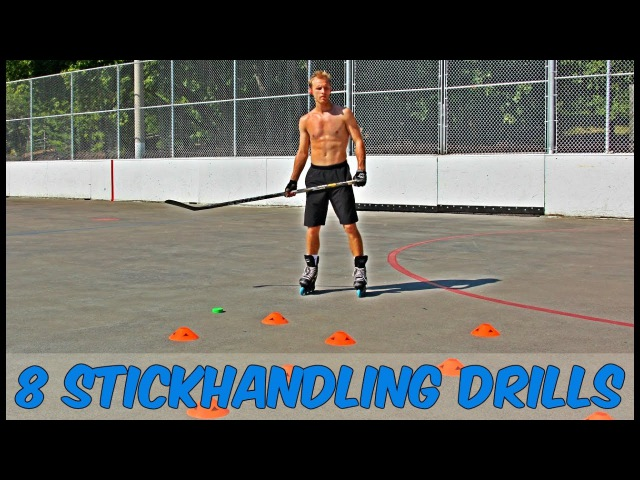 8 Off Ice Stickhandling Drills for Better Control