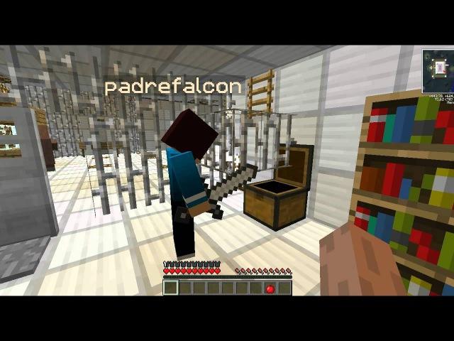Minecraft Прохождение карты Побег из тюрьмы Часть 2