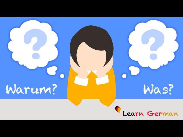 Learn German   W-Questions   W-Fragen   German for beginners   A1 - Lesson 29