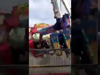 ride malfunctions at ohio state fair (FULL VIDEO)