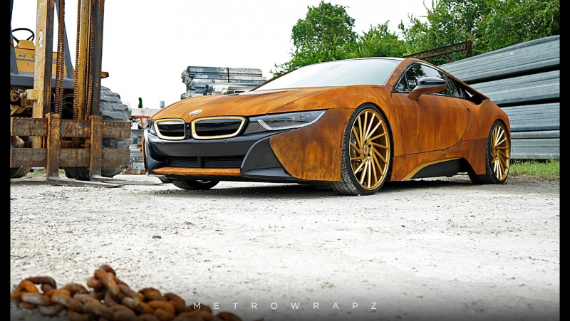BMW i8 by MetroWrapz Vossen Forged VPS 305T Wheels