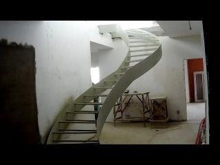 Изготовление необычной лестницы