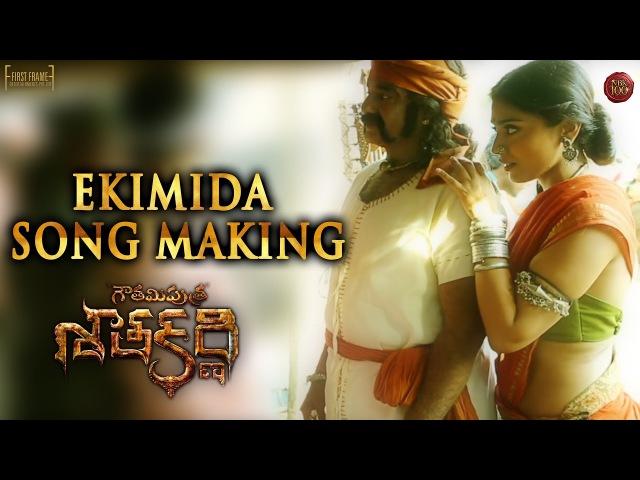 Ekimida Song Making Gautamiputra Satakarni Nandamuri Balakrishna NBK100 A film by Krish