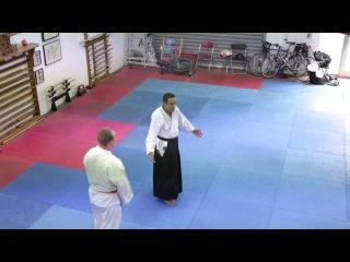 Aikido Kaeshi-waza (counter techniques).  Dunken Francis sensei