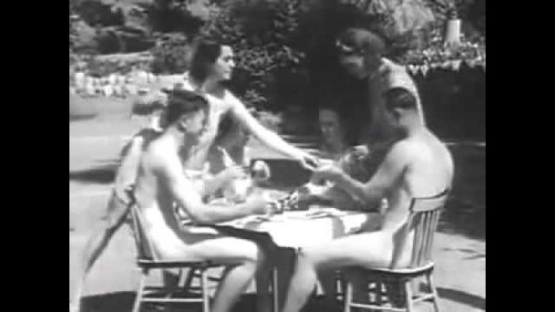 Нудистский лагерь США 1938 The Expose of the Nudist Racket