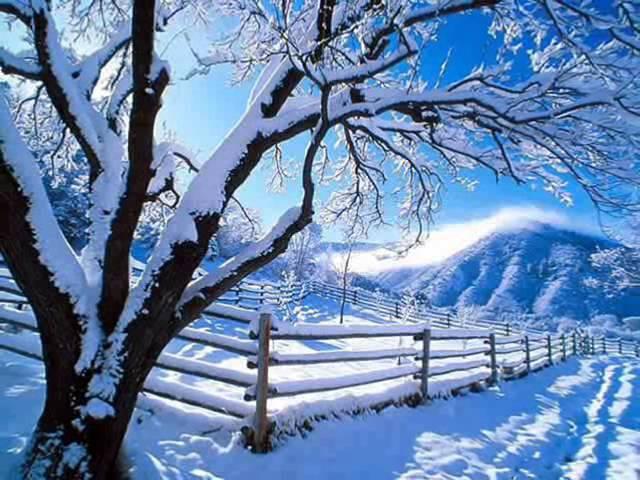 Белым мелом ляжет снег