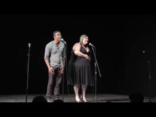 National Poetry Slam 2015   Group Piece Finals   Austin Poetry Slam с русскими субтитрами