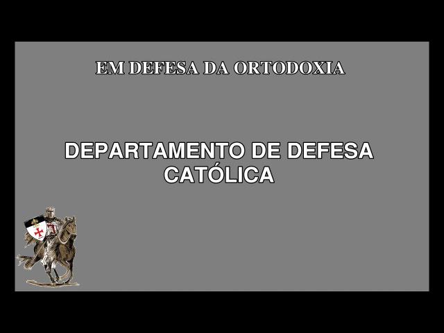 A resposta Católica diante os ataques da ATEA Carlos Nougué convida para o debate
