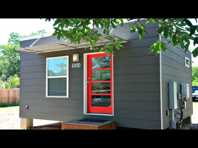 Elegant Sleek Contemporary Tiny Home with Light Filled Interior Accessory Dwelling Unit