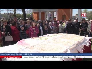Праздничные гуляния в Екатерининском саду Симферопольцы и гости крымской столицы отмечают светлый праздник Пасхи. Ярмарка развер