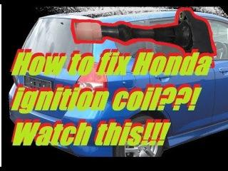 👍 Honda Jazz ( Fit ) Free Ignition Coil Misfire [ Engine Hesitation ] Problem Fix I-DSI