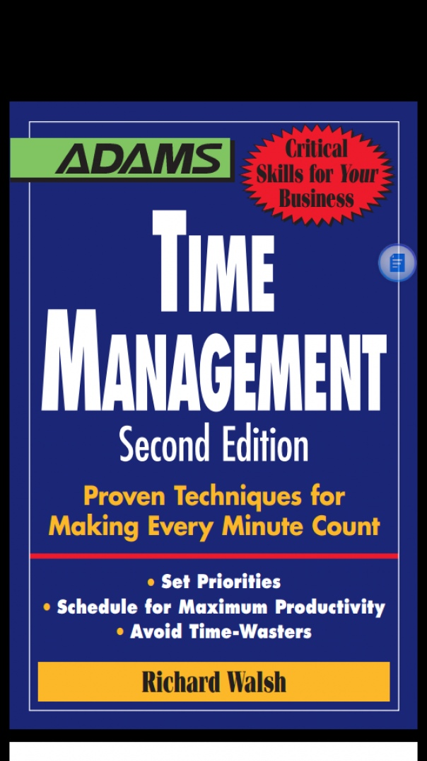 Time Management Proven Techniques