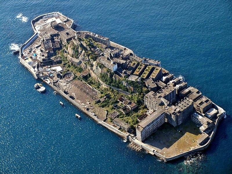Интересные места нашей планеты Остров Хасима (Япония), изображение №1