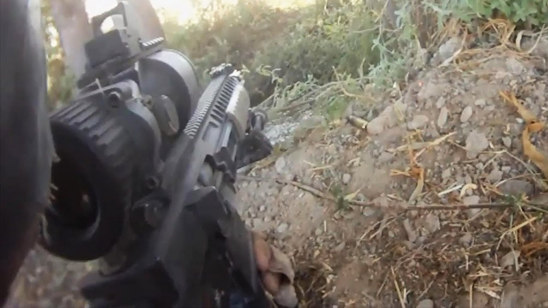 Afghanistan War POV Combat From British Soldier
