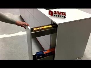 Blum. Бутылочница с механизмом LEGRABOX. Злата Мебель