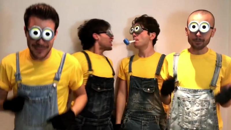 Aula39- Banana Song (Minions cover)