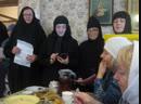 Продолжение поздравлений для игумении Кириллы в день её юбилея.