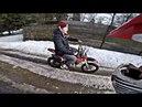 ПОКАТУШКА грязевая с пацанами на питбайках и квадроцикле
