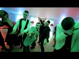 Манекен челендж на свадьбе Дмитрия и Ирины